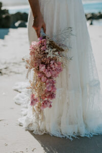 Bridal Bouquet Beach Wedding